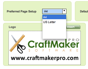 Bead Manager Pro Paper Size